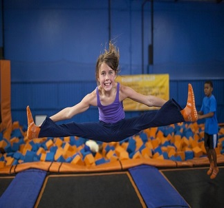 Gymnastics coaching training at SkyJumper